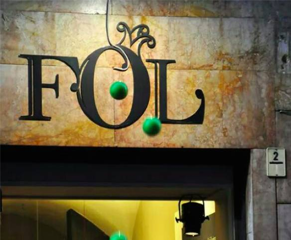 Fol, il negozio di popcorn di Torino