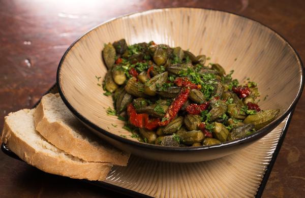 okra cooked five ways