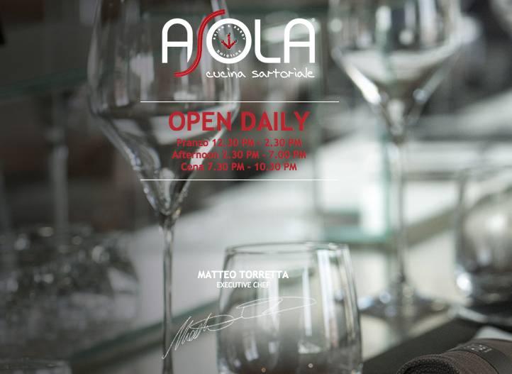 Asola, il ristorante del Brian&Barry Building di Milano