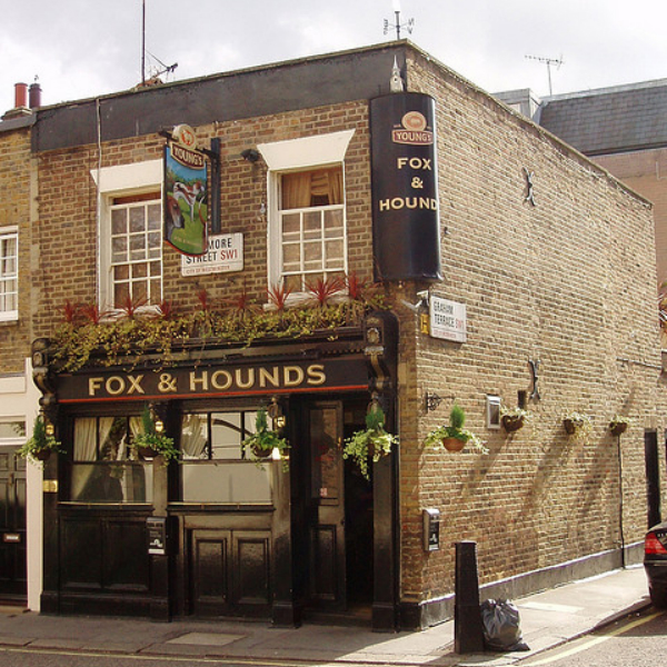 The Fox and Hounds, Belgravia, London