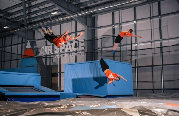 Air Space Glasgow - Scotland's First Trampoline Park