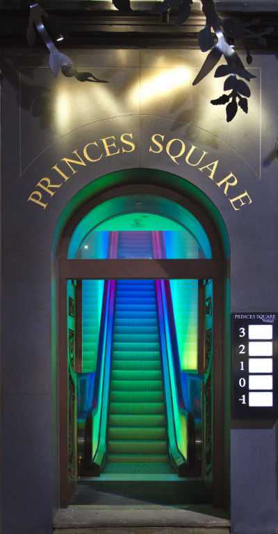 Entrance to Prince's Square, Glasgow