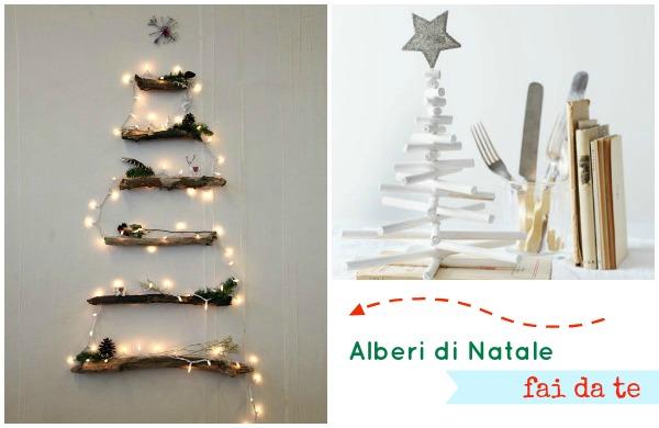 Albero di natale fai da te 5 idee originali ed economiche for Alberi di natale fai da te in legno