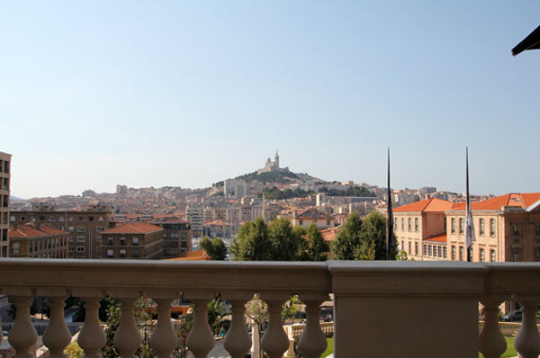 Vue du Spa Clarins Marseille