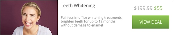 teeth whitening deal