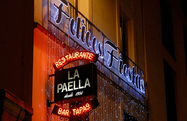 Bar à tapas Paris la Paella