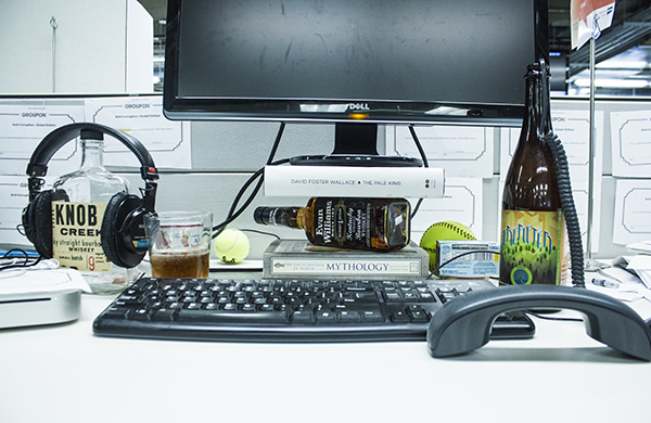 """Stock an Office Bar Worthy of """"Mad Men"""" with Help from These Three Mnemonic Devices"""