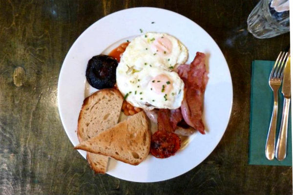 Breakfast at Eco in Clapham