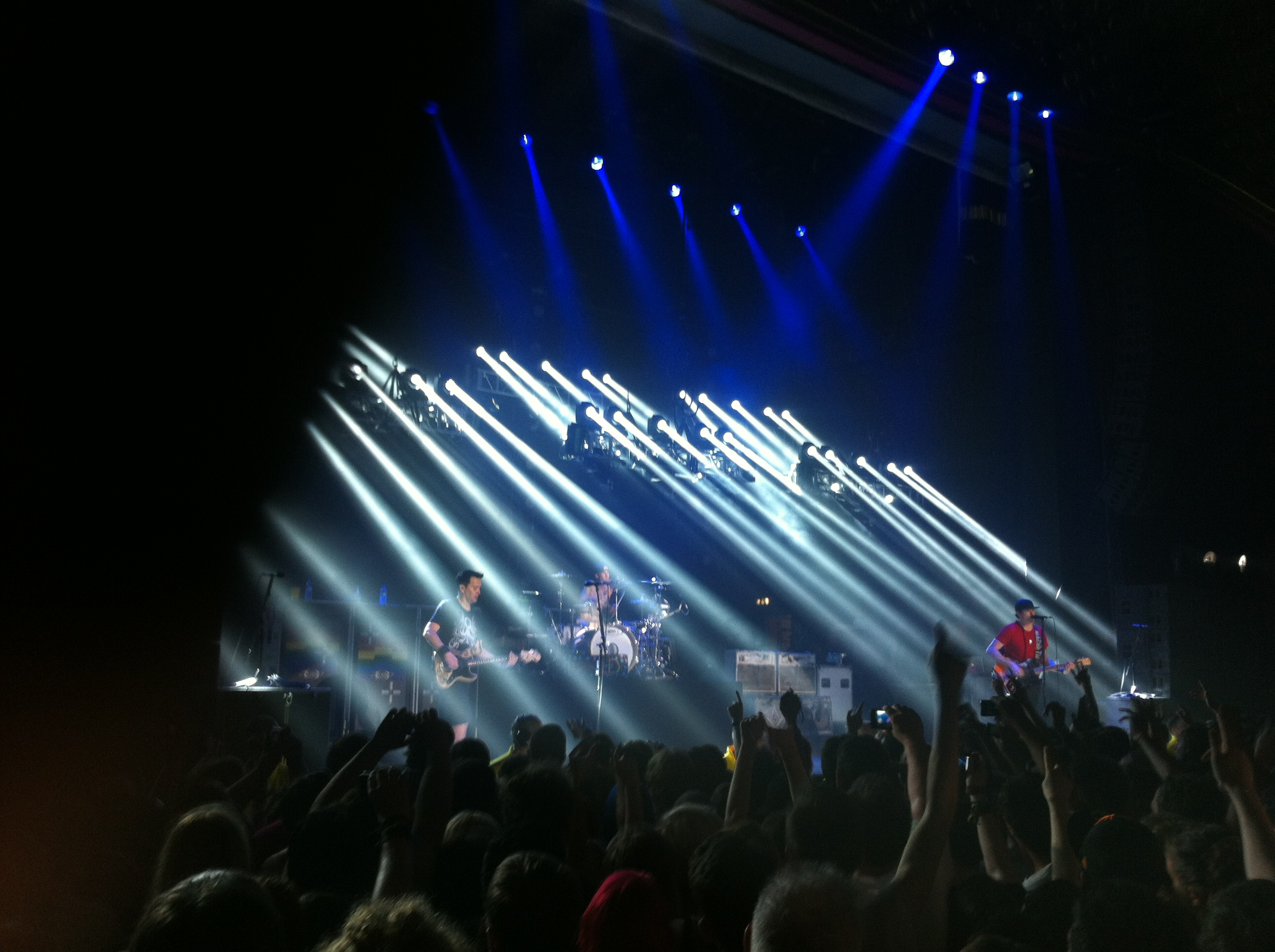 Blink 182 at the Manchester Apollo