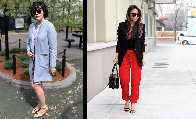 """How Christine Petric (5'2"""") and Kacy Karlen (6'4"""") Find Clothes They Love"""