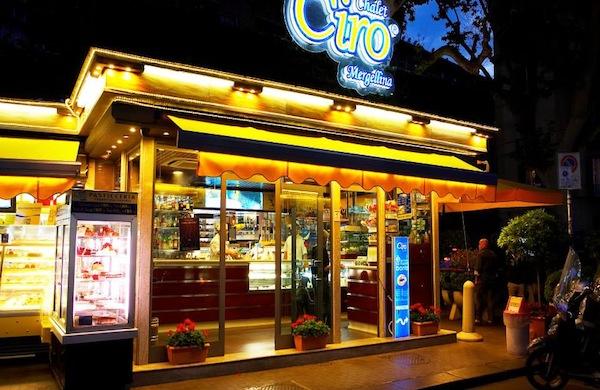 Chalet Ciro, mangiare bene a Napoli tutto il giorno