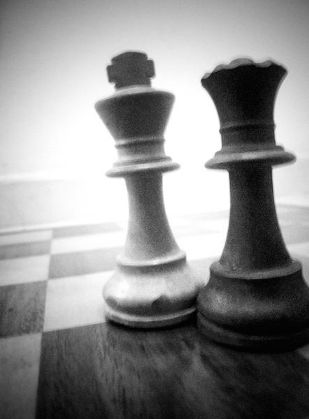 scacchi bianchi e nero