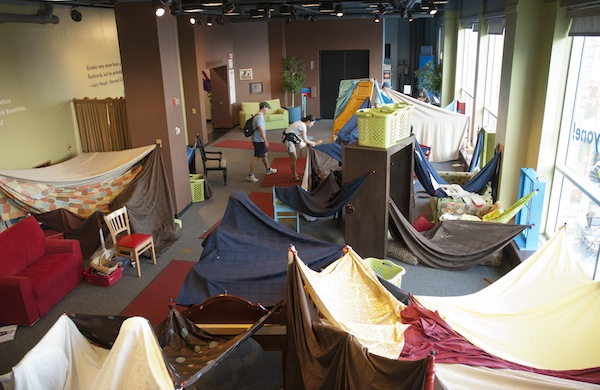 Chicago Children's Museum Spotlights the Childhood Forts You Wish You Had