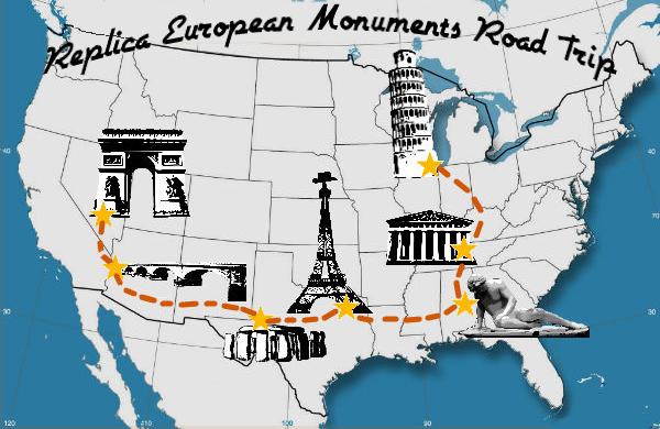 How to See Famous European Monuments Without Leaving the United States