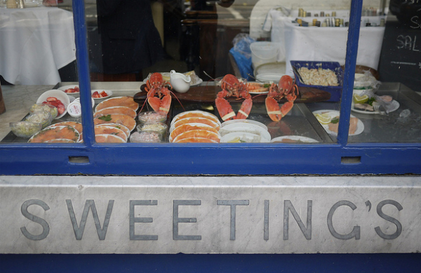 Sweetings restaurant London