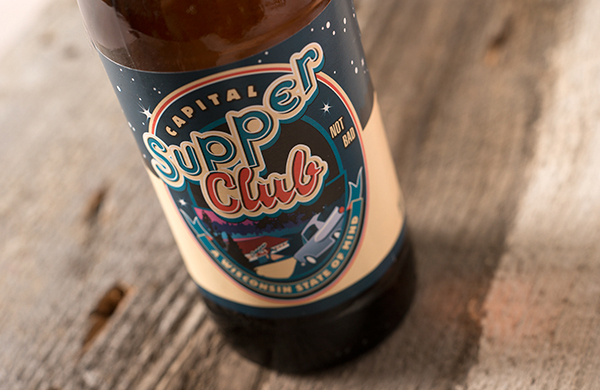 Capital Brewery Pays Tribute to Wisconsin Culture with Supper Club Lager