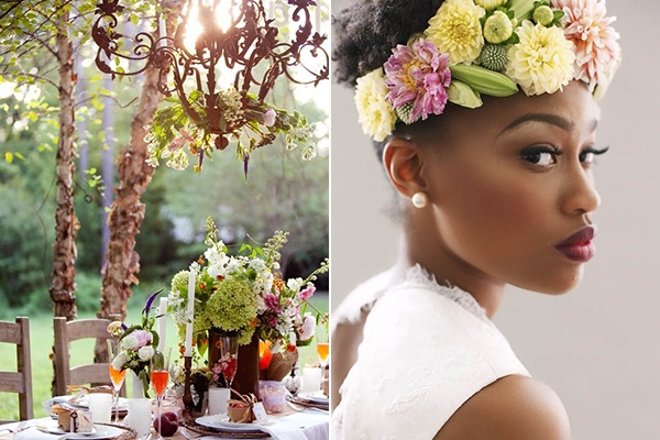 garden party flower crown