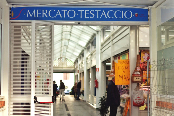 Il mercato di Testaccio a Roma