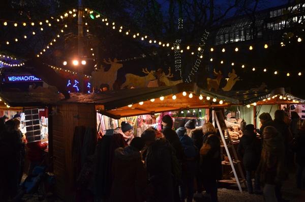 Weihnachtsmarkt im Stadtgarten Köln