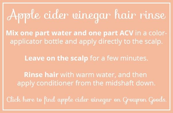 Apple cider vinegar recipe card
