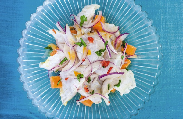 A Sea Bass Ceviche Recipe from Martin Morales