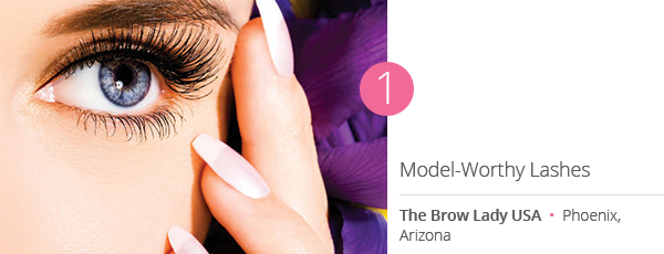 Model-Worthy Lashes at The Brow Lady USA