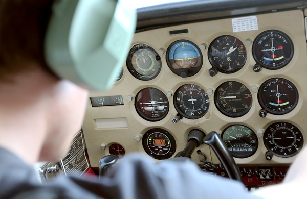 Learn to Fly  cockpit
