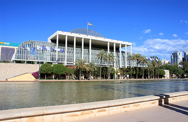 El jard n del turia en valencia - Jardin del turia valencia ...