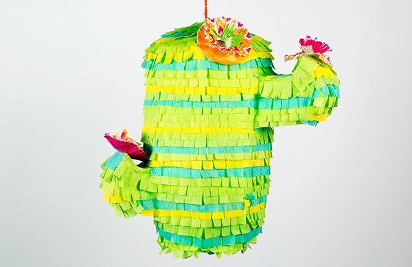 this cinco de mayo pinata will literally drive your guests insane