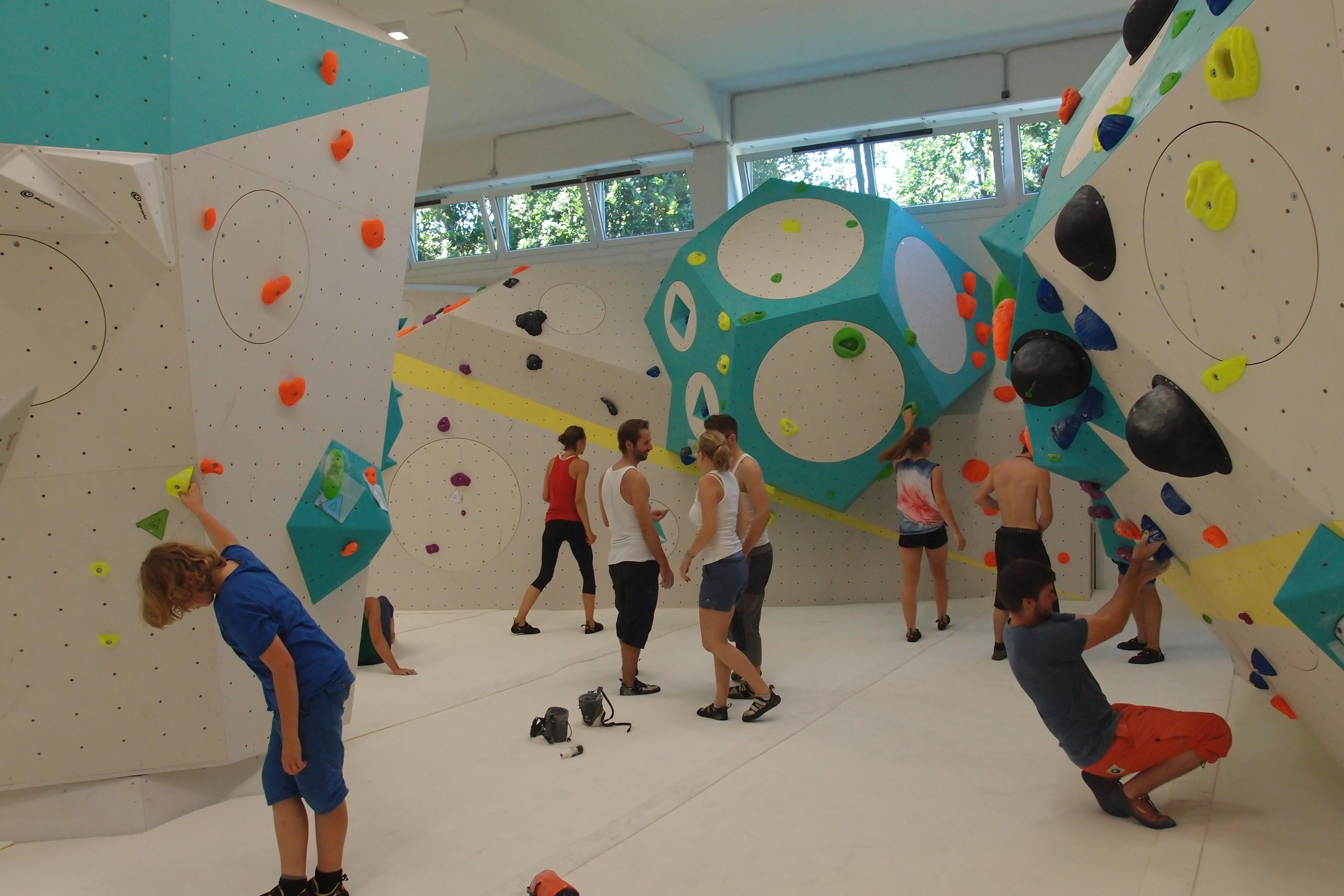 FlasHH - die neue Kletterhalle in Hamburg
