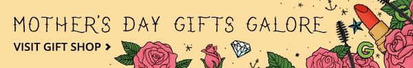 Mother s Day gift Shop banner
