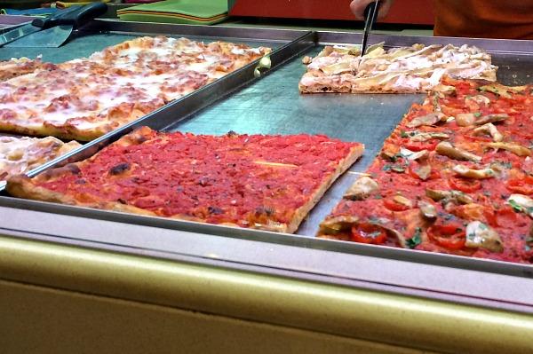 Le 5 migliori pizzerie al taglio di Roma