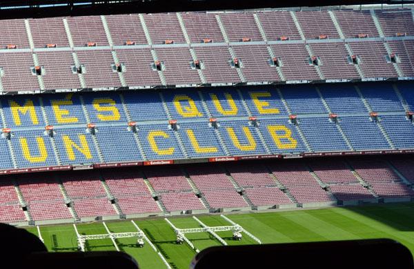 Camp Nou Experience en Barcelona para niños y familias