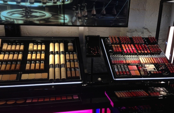 makeup for sale at Covent Garden