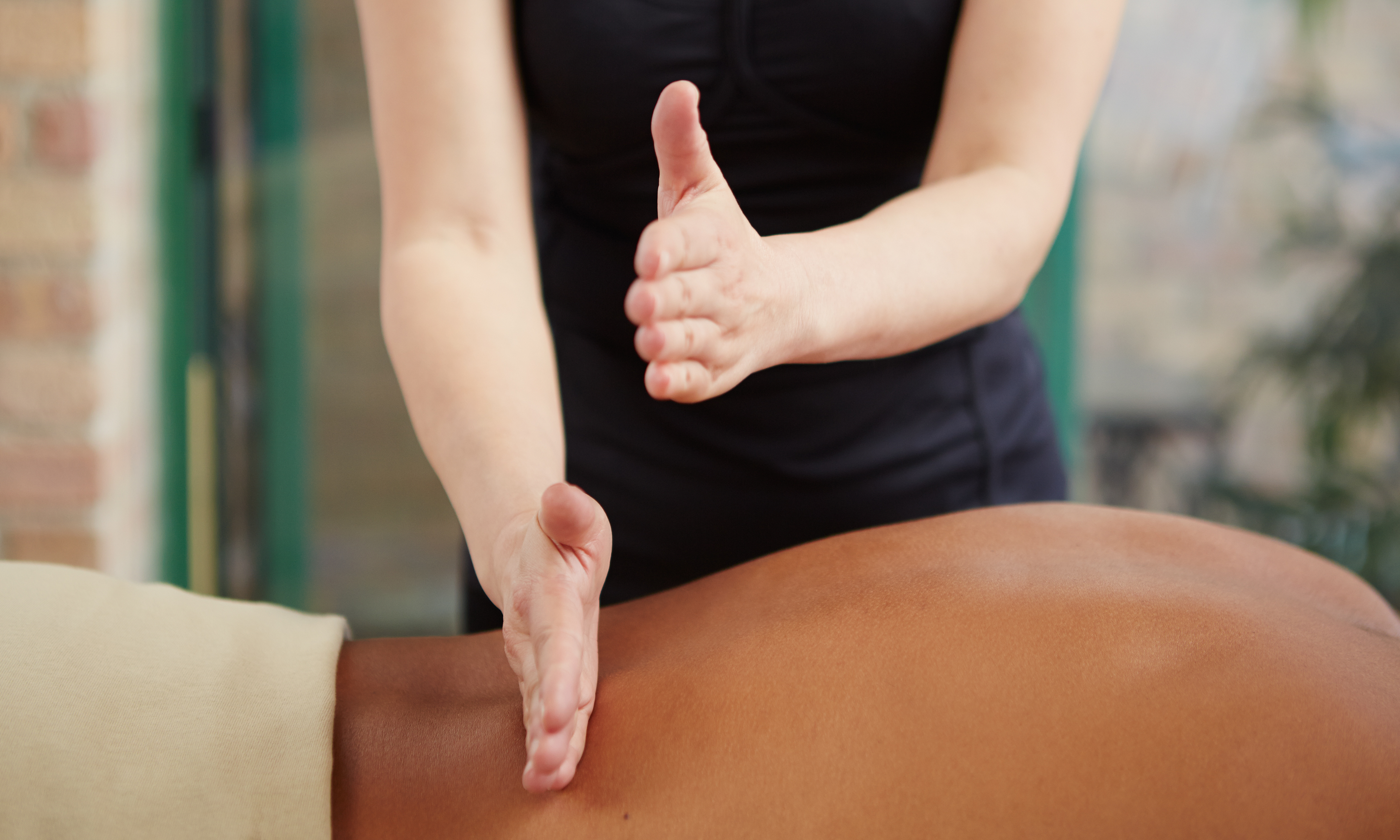 Brake for a Massage at the Crossroads of America
