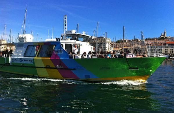Les navettes de la RTM : c'est comme un bus, mais en bateau…