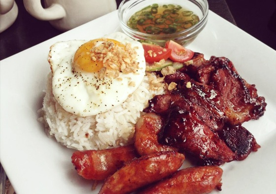 A Hearty Breakfast Filipino Style