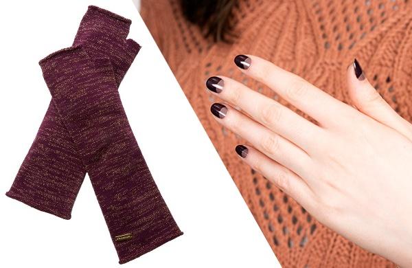 fall color manicure