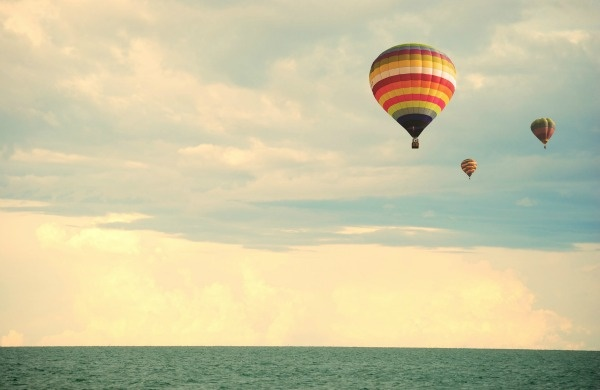 volo mongolfiera