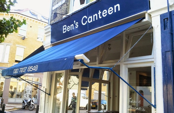 bens canteen london