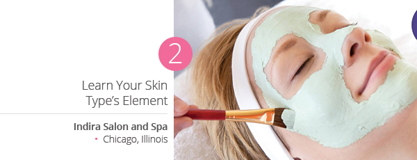 Learn Your Skin Type's Element at Indira Salon and Spa