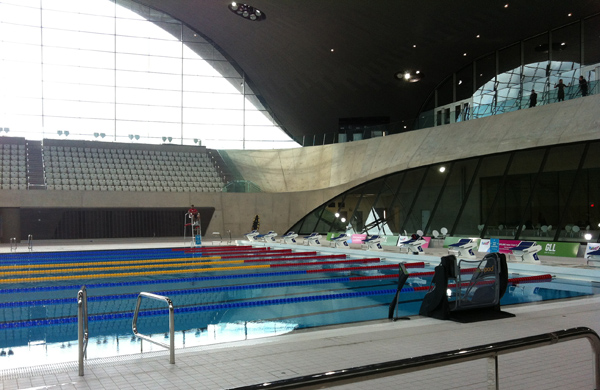 Swimming Pool at Olympic Park London