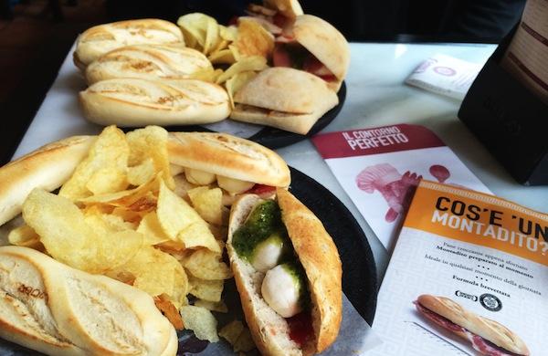 100 Montaditos ovvero mangiare a Roma con 1 euro