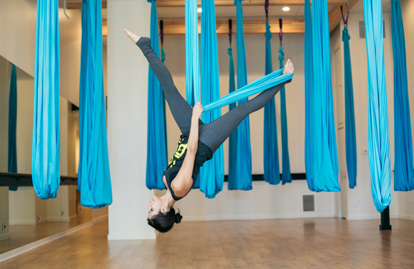 Lincoln Park's AIR Turns Exercise Upside-Down