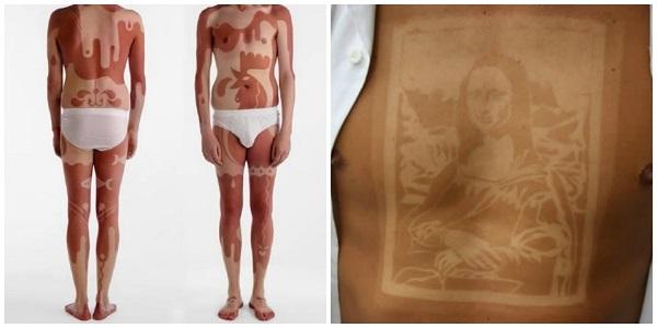 abbronzatura tatuaggi