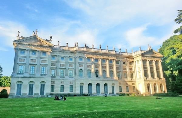 La Villa Reale di Milano ed il suo parco... non per adulti!