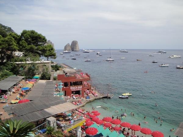 spiaggia Capri