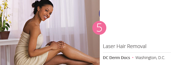 Laser Hair Removal at DC Derm Docs