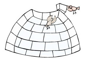 How to Build an Igloo  Step 7