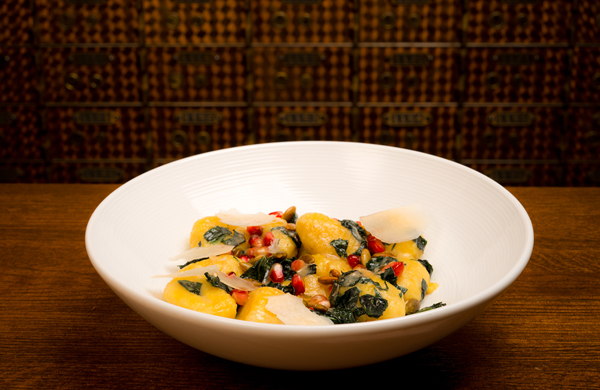 Sweet-Potato Gnocchi at The Bedford in Wicker Park